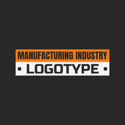 Logo Maker for Manufacturing Tech Industry 1418d