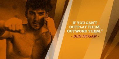 Boxing Quotes Post Maker for Twitter 621d