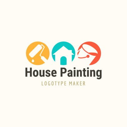 Logo Maker for House Painting 1437