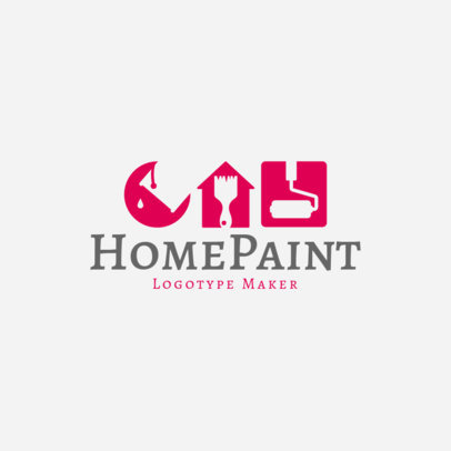 Home Paint Logo Maker 1437b