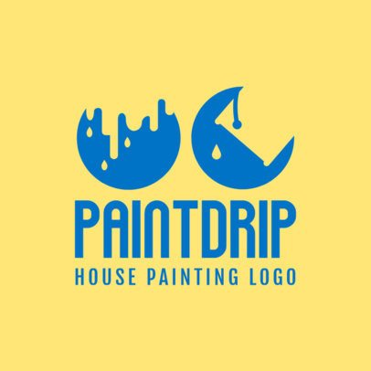 House Painters Logo Template 1437c