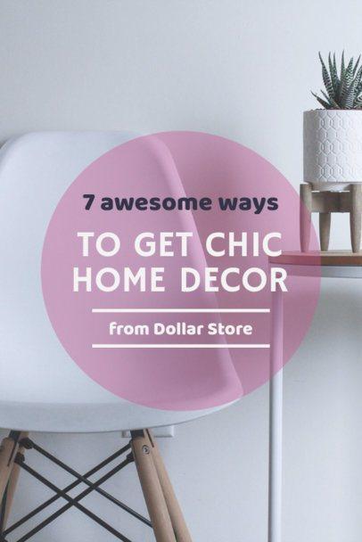 Home Decor Tip Post Maker for Pinterest Pins 651a