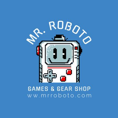 Online Gaming Shop Logo Template 1457e