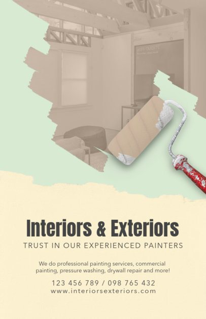 Experienced Painters Flyer Design Maker 712a