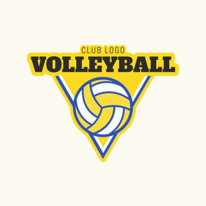 Volleyball Team Logo Maker 1513