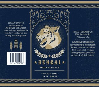 Beer Label Maker for Pale Ale Brews 768