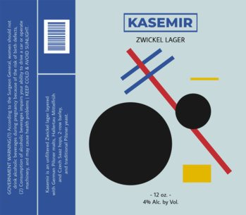 Beer Label Design Template for Lagers 767d