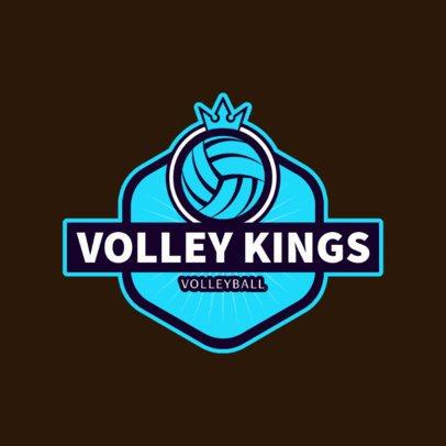 VolleyBall Club or Team Logo Maker 1499e