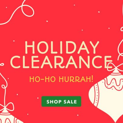 Christmas Banner Maker for a Holiday Clearance 789