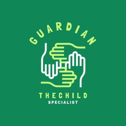 Pediatric Specialist Logo Design Creator 1532d