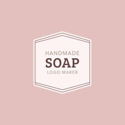 Handmade Soap Logo Maker 1159a