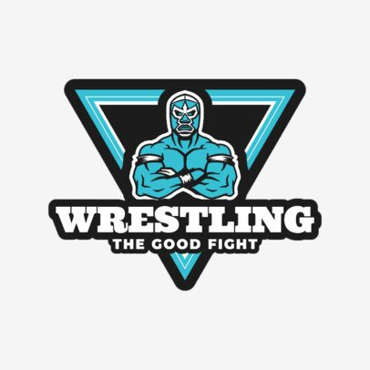 Wrestling Logo Maker for Clubs and Gyms 1538