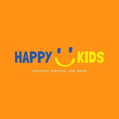 Logo Maker for Pediatric Services 1534e