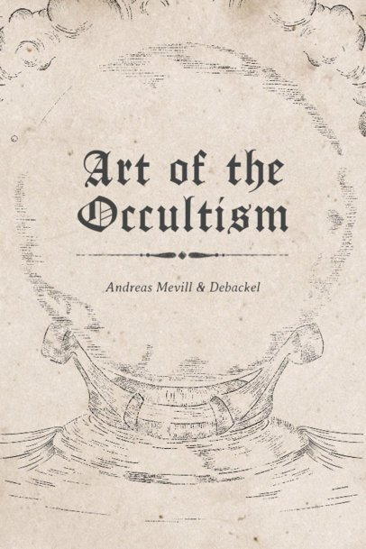 Book Cover Maker for Occultism 539b