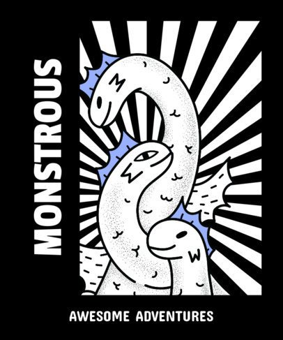 Monster T-Shirt Design Maker 14d
