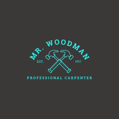 Woodwork Logo Design Creator 1549