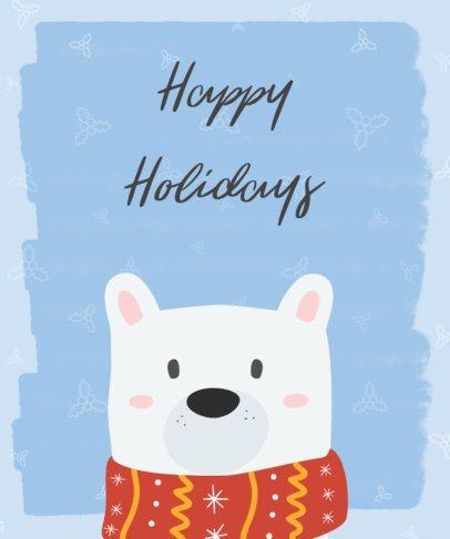 Christmas T-Shirt Design Maker for a Happy Holidays TShirt Design 832e