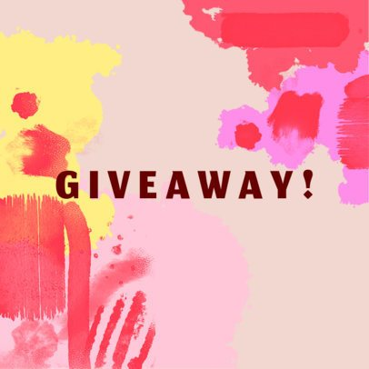 Banner Creator for Art Supply Giveaway 540a