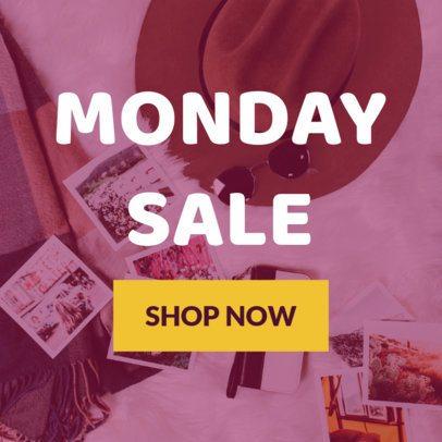 Cyber Monday Online Banner Maker 16587a