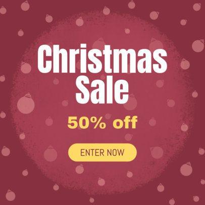 Christmas Season Sale Ad Creator 774 a