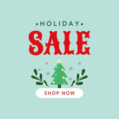 Banner Maker for a Holiday Sale with Garland Graphics 776d