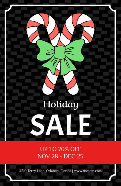 Christmas Flyer Maker for a Huge Holiday Sale 857a