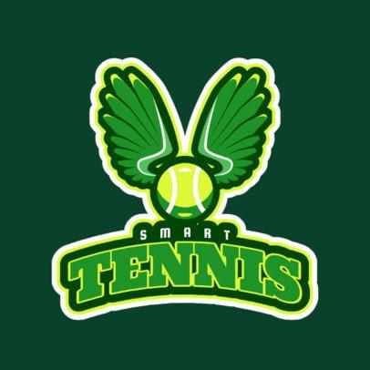 Tennis Logo Maker with Tennis Racket Clipart 1600