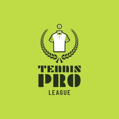 Tennis Logo Maker for a Tennis Pro League 1601b