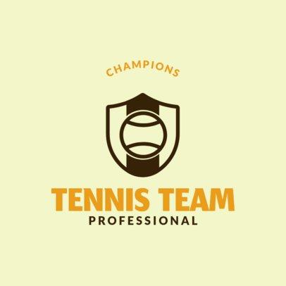 Tennis Logo Creator for Tennis Team 1604d