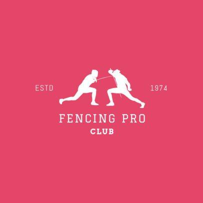 Fencing Logo Creator for Pro Fencing Teams 1613b