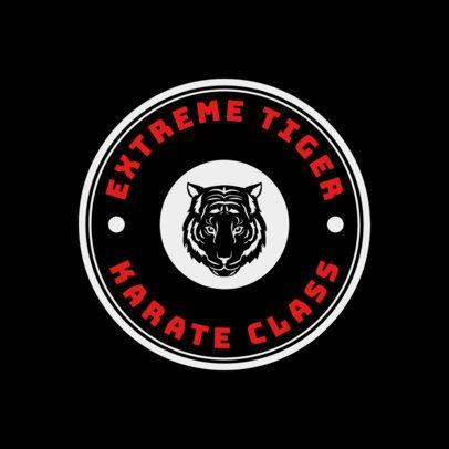 Martial Arts Logo Generator for a Karate Class 1606a