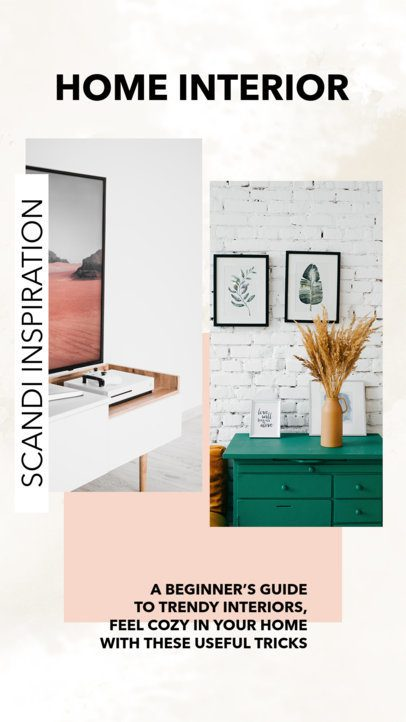 Instagram Story Maker for a Home Interior Post 951