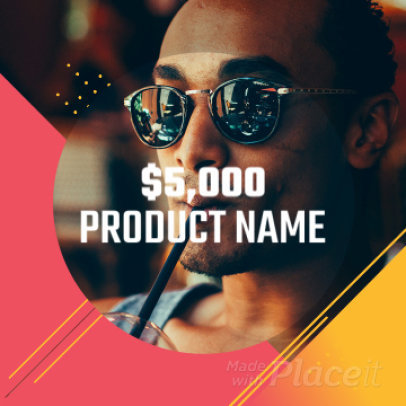 Instagram Slideshow Maker for a Product Overview Video with Cool Animations 906