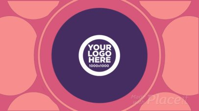 Intro Maker for a Logo Reveal with Cool Circular Motion Graphics  215a 975