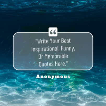 Instagram Video Maker for an Inspirational Quote Video with Animations 876