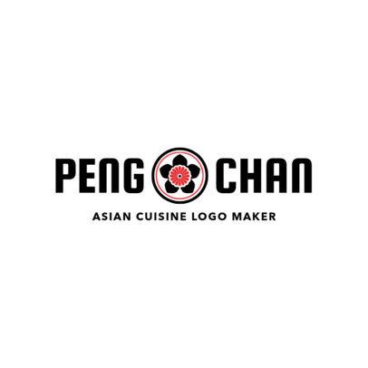 Simple Chinese Restaurant Logo Maker for Asian Cuisine 1669