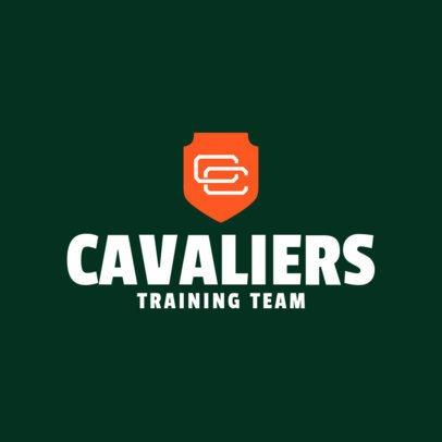 Sports Logo Maker for a Training Team 1690e