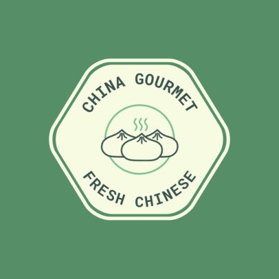 Logo Maker for a Chinese Gourmet Restaurant 1665b