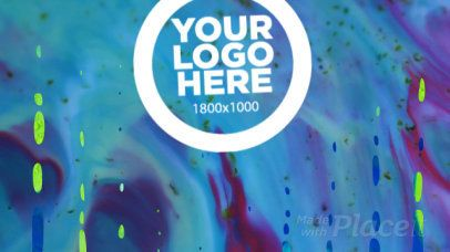 Intro Maker for a Cool Logo Animation with Slime Video Effects 1108- 5a
