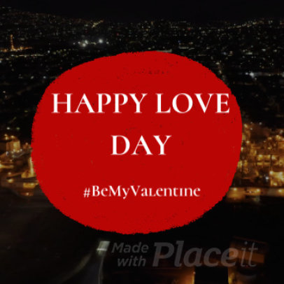 Video Maker for a Valentines Day Instagram Video 844b 1145