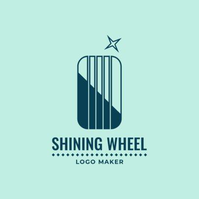 Auto Car Wash Logo Maker 1753d