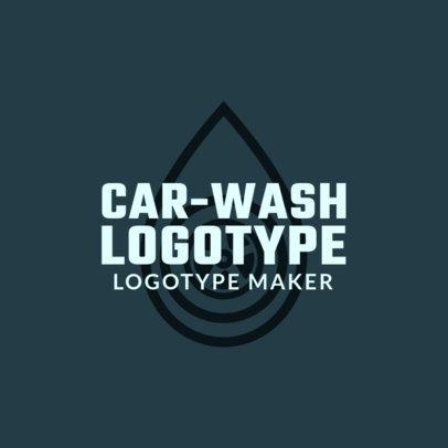 Car-Wash Logotype Maker 1757b