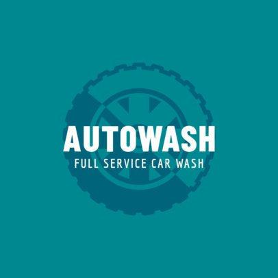 Auto Wash Logo Maker 1757e