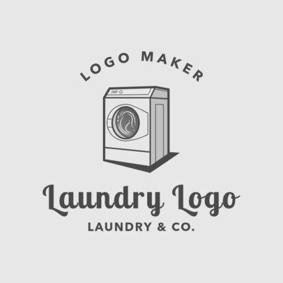 Laundry Logo Maker for a Laundry Service Company 1777
