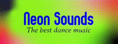 Facebook Cover Template for a Dance Music Page 1082b