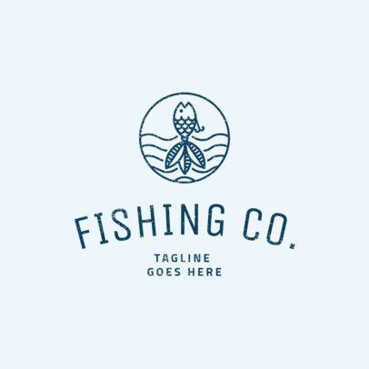 Fishing Logo Maker 1794