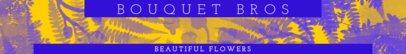 Etsy Shop Banner Template for Floral Shops 1115e