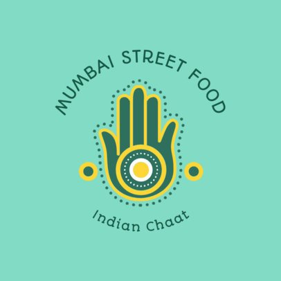 Indian Food Logo Maker for a Mumbai Street Food Place 1835e