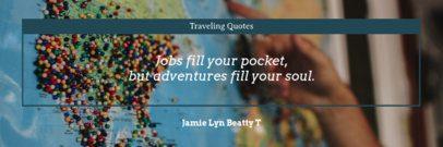 Twitter Header Creator for Adventurous Quotes 1092d