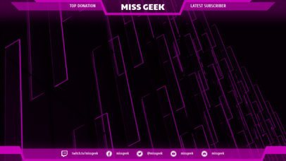 Twitch Overlay Maker for Gamer Girls 1070c